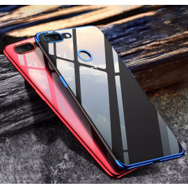 Vaku ® OnePlus 5T CAUSEWAY Series Electroplated Shine Bumper Finish Full-View Display + Ultra-thin Transparent Back Cover