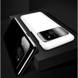 Vaku ® Samsung Galaxy A8 PLUS Polarized Glass Glossy Edition PC 4 Frames + Ultra-Thin Case Back Cover