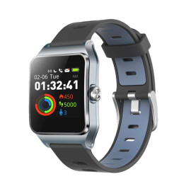 Iwownfit ® P1C GPS Sports Watch with Heart Rate, Acceleration, Gyroscope Sensor