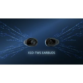 Vaku ® Wireless X1D HD-STEREO Bluetooth 5.0 Earphones with EDR + Noise Cancellation
