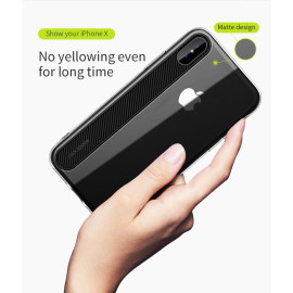 Rock ® Apple iPhone X / XS Ace Series Ultra-Clear Transparent View Minimalist Design Back Cover