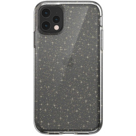 Luxos ® For Apple iPhone 11 Pro Max Star Struck Series Transparent Protective Hard Back Cover