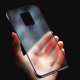 VAKU ® Xiaomi Redmi Note 9 Pro Frameless Semi Transparent Cover