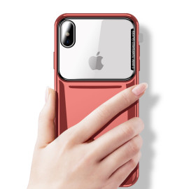 Vaku ® Apple iphone X Germania Glass edition PC 4 Frames + Ultra-Thin Case Back Cover