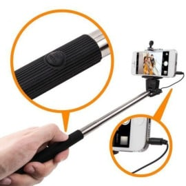 Takepole ® Selfie Stick Pro Mono Pod Extendable with Wired Controller