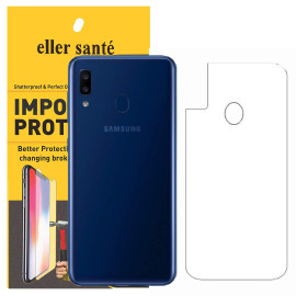 Eller Sante ® Samsung Galaxy A20 Impossible Hammer Flexible Film Screen Protector (Front+Back)