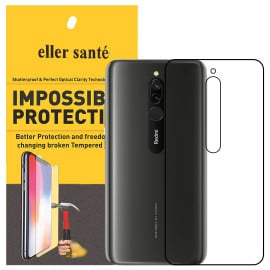 Eller Sante ® Redmi 8 Impossible Hammer Flexible Film Screen Protector (Front+Back)