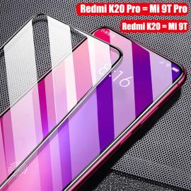 Dr. Vaku ® Xiaomi Redmi K20 / K20 Pro 5D Curved Edge Ultra-Strong Ultra-Clear Full Screen Tempered Glass-Black