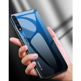 VAKU ® Samsung Galaxy A50 Dual Colored Gradient Effect Shiny Mirror Back Cover