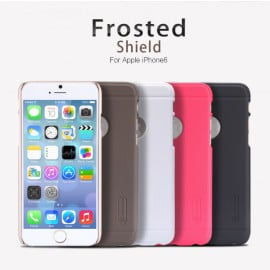 Nillkin ® Apple iPhone 6 / 6S Super Frosted Shield Dotted Anti-Slip Grip PC Back Cover