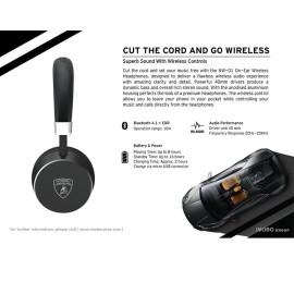 Lamborghini ® Diablo NW01 On-Ear Headphones Wireless Bluetooth Headset