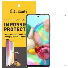 Eller Sante ® Samsung Galaxy A71 Impossible Hammer Flexible Film Screen Protector (Front+Back)