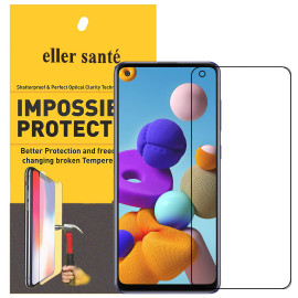Eller Sante ® Samsung Galaxy A21S Impossible Hammer Flexible Film Screen Protector (Front+Back)