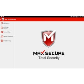 Max Secure ® Mobile Security Suite with Anti-virus + Anti-theft + Performance Enhancer + Cloud Contact Backup + Call / SMS Filter
