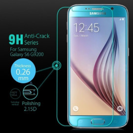 Samsung Galaxy S6 2.5D  0.3mm thin Tempered Glass Screen Protector