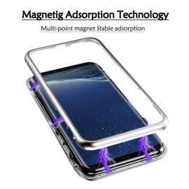 Vaku ® Samsung Galaxy J6 Plus Electronic Auto-Fit Magnetic Wireless Edition Aluminium Ultra-Thin CLUB Series Back Cover