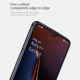 Dr. Vaku ® OnePlus 7 5D Curved Edge Ultra-Strong Ultra-Clear Full Screen Tempered Glass-Black