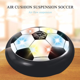 VAKU ® Sports Air Football with Air Powered Rubber Cushion & Blinking Multi colored LEDs