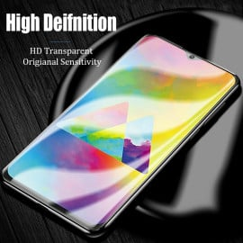 Dr. Vaku ® Samsung Galaxy M30S 5D Curved Edge Ultra-Strong Ultra-Clear Full Screen Tempered Glass-Black