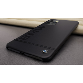 BMW ® For Apple iPhone 11 Pro Official Racing Leather Case Limited Edition Back Cover