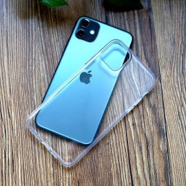 Luxos ® Apple iPhone 11 / 11 Pro / 11 Pro Max Glassy Transparent Hard Case with High Grade material Back Cover