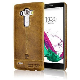 Pierre Cardin ® LG G4 Paris Design Premium Leather Case Back Cover