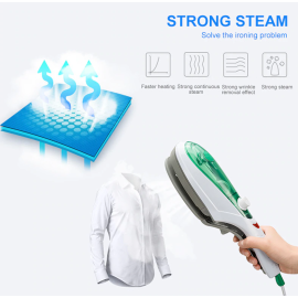 VAKU ® Portable Steam Iron Brush for clothes ironing and house cleaning with Vapor Generator