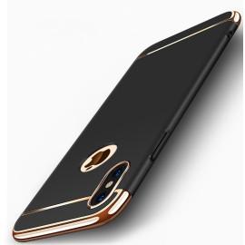 VAKU ® Apple iPhone XS Ling Series Ultra-thin Metal Electroplating Splicing PC Back Cover