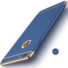 VAKU ® Apple iPhone 7 Ling Series Ultra-thin Metal Electroplating Splicing PC Back Cover