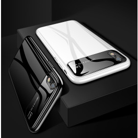 Vaku ® Apple iPhone XR Polarized Glass Glossy Edition PC 4 Frames + Ultra-Thin Case Back Cover