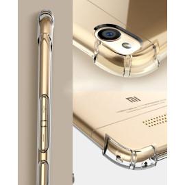 Vaku ® Xiaomi Redmi 4A PureView Series Anti-Drop 4-Corner 360° Protection Full Transparent TPU Back Cover Transparent