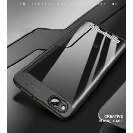 Vaku ® Redmi 5A Kowloon Series Top Quality Soft Silicone 4 Frames plus ultra-thin case transparent cover
