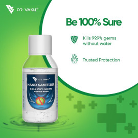 Dr. Vaku Instant Hand Sanitizer with 70 % Alcohol (Pack of 1)