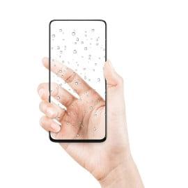 Dr. Vaku ® Samsung Galaxy A21 Full Edge-to-Edge Ultra-Strong Ultra-Clear Full Screen Tempered Glass- Black