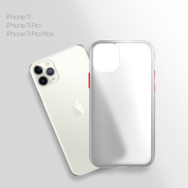 Vaku ® For Apple iPhone 11 Pro Frosted Armor Case Backcover