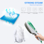 Eller Santé ® Portable Steam Iron Brush for clothes ironing and house cleaning with Vapor Generator