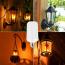 InterActiv ™ LED FLAME Effect Fire Light Bulbs, flameless, safe & energy saving  LED Light source